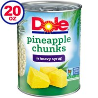 Dole Pineapple Chunks in Heavy Syrup, 20 Oz can