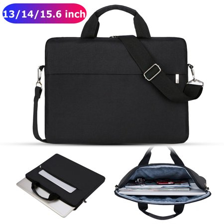 EEEkit Laptop Sleeve Bag - Tablet Briefcase Carrying Handbag, Waterproof Laptop Shoulder Bag Sleeve Case Cover Compatible with 13-15.6 Inch MacBook Air/Pro Lenovo Acer Dell Samsung HP HAUWEI Notebook Top Laptop Carrying Case