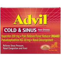 Pain Relievers: Advil Cold & Sinus