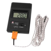 LCD K Type Digital Thermometer Test TM-902C + Thermocouple Wire