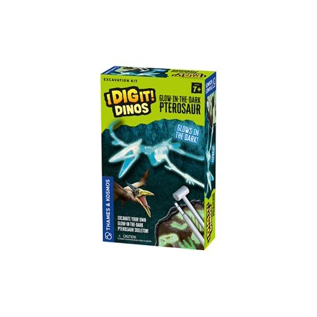 I Dig It! Dinos - Glow-in-the-Dark Pterosaur Excavation - Dino Excavation Kit