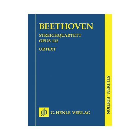 G. Henle Verlag String Quartet A minor Op. 132 (Study Score) Henle Study Scores Series Softcover by Ludwig van (String Quartet In G Minor Op 10)