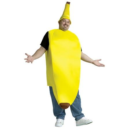 The Big Banana Adult Halloween Costume - One Size