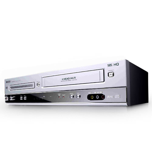 Philips DVD750VR Progressive-Scan DVD VCR Combo (Refurbished) by Philips