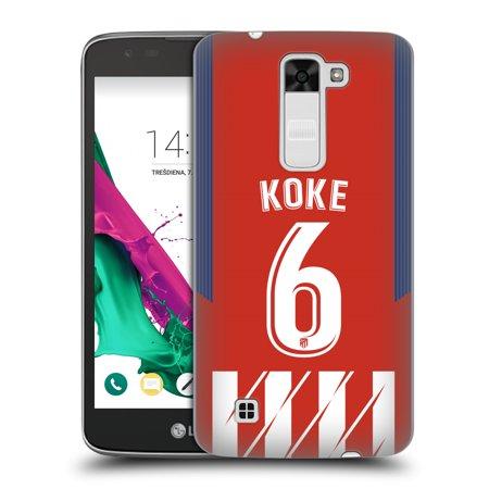 OFFICIAL ATLETICO MADRID 2017/18 HOME KIT 1 HARD BACK CASE FOR LG PHONES 3 - Madrid Home Kit