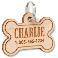 Personalized Wood Pet Tag