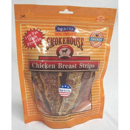 Smokehouse Chicken Variety Pack (SmokeHouse Chicken Breast Strips Chicken Dog Treats, 8 Oz )