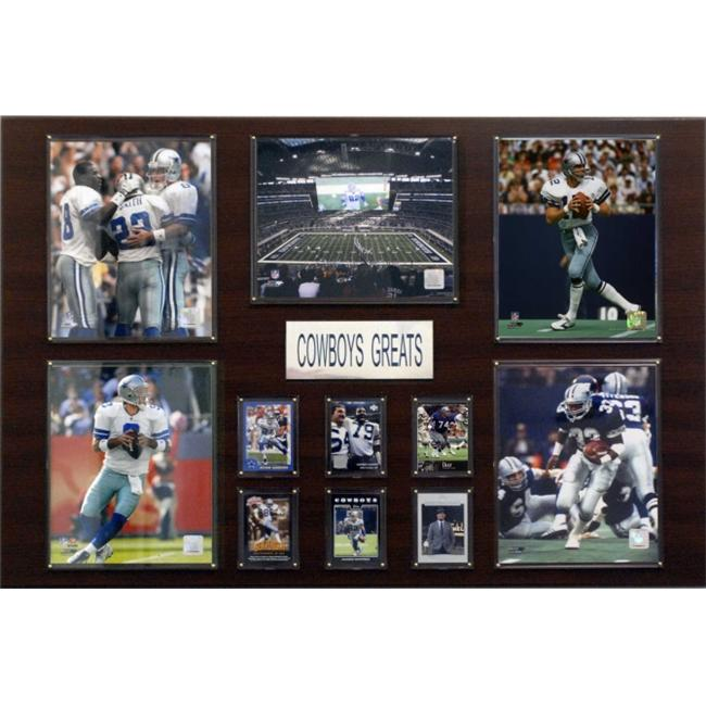 C & I Collectables 2436COWBOYS NFL Dallas Cowboys Greatest Star Plaque
