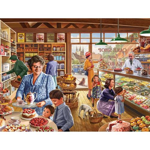 White Mountain Cake Shop Jigsaw Puzzle
