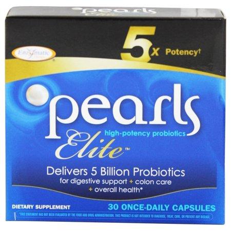Enzymatic Therapy - Perles Elite Suractivé Probiotiques - 30 Capsules