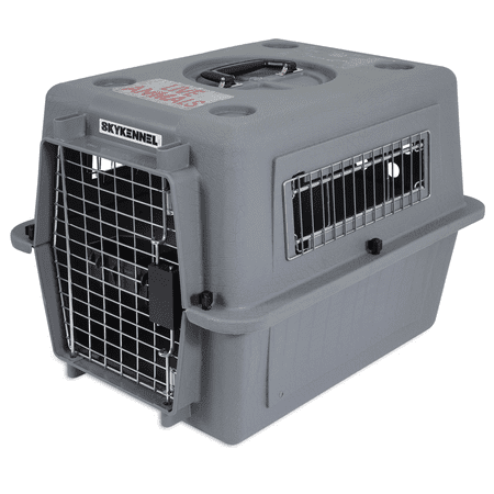 Petmate 21 Inch Sky Kennel 15 lb. Small Dog Ventilated Pet Travel Carrier Crate