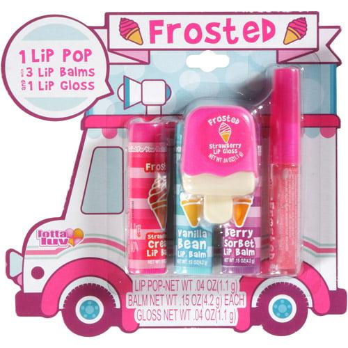 Ice Cream Truck 3pcs Lip Balm +1pc Lip G