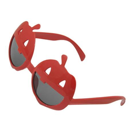 a45975c911 Pumpkin Half Round Lens Halloween Carnival Red Glasses - Walmart.com