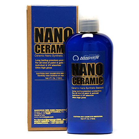 Nano Ceramic Synthetic Sealant - 4 oz. by Nanoskin (2 Bottle (Best Nano Waxs)