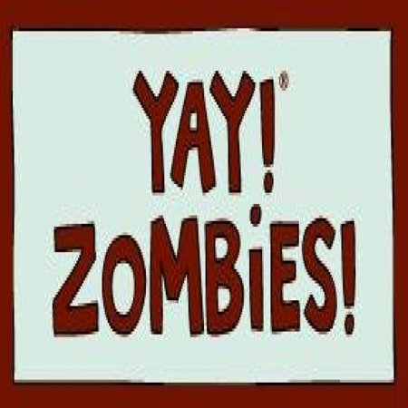 Yay  Zombies  Magnet