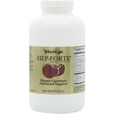 Forte 500 Tabs - Naturally Vitamins Marlyn Hep-Forte Dietary Supplement, 500 CT