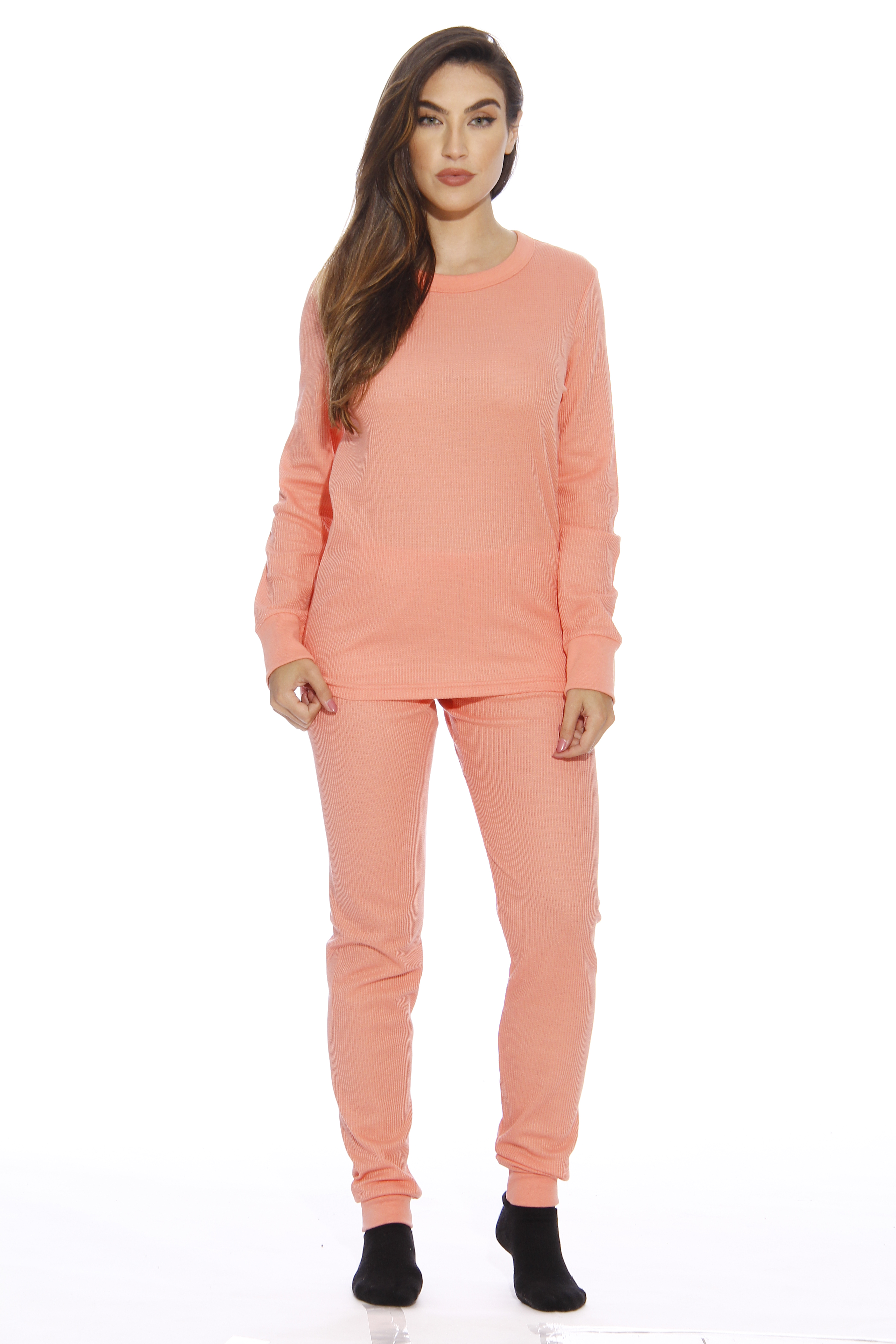 Just Love - Just Love Thermal Underwear Set (Grey 929644a30