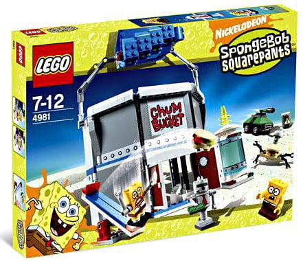 Spongebob Squarepants Chum Bucket Set Lego 4981 by LEGO Systems, Inc.