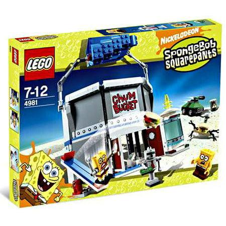 Spongebob Squarepants Chum Bucket Set LEGO 4981 ()