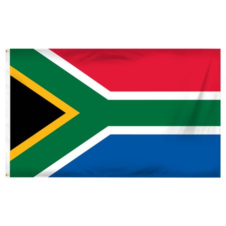 South Africa 3ft x 5ft Printed Polyester Flag ()