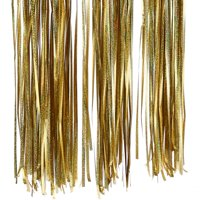 AkoaDa 3M Foil Fringe Tinsel Shimmer Curtain Door Wedding Birthday Party Decorations US