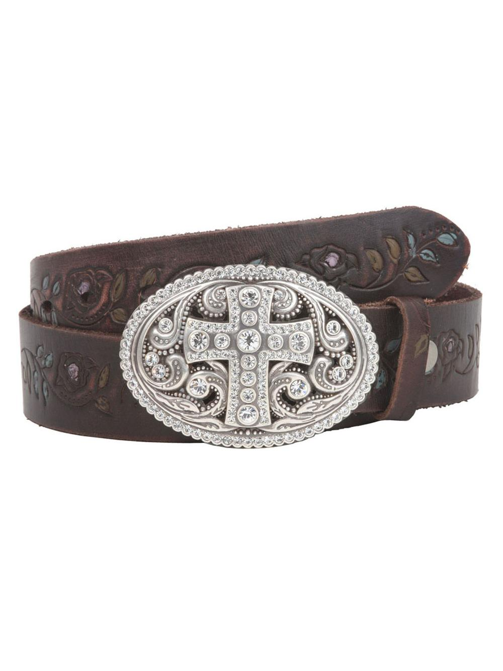 Snap On 1 1//2 Soft Hand Genuine Leather Perforated Detail Belt