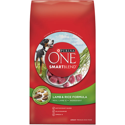 Purina ONE SmartBlend Lamb & Rice Formula Adult Premium Dog Food 16.5 lb. Bag
