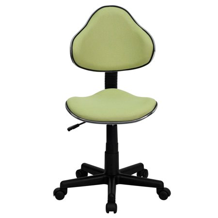 Two Tone Task Chair with Ergonomic Seat and Back, Multiple Colors Color Slat Back Chair
