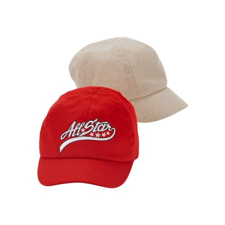 Wonder Nation Toddler Baseball Cap 2-pack - Plastic Baseball Cups