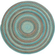 Jennie Lake Round Braided Area Rug