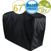 LNKOO Grill Cover, Waterproof Gas Grill Cover with Double Stitching and Heat Sealed Seams 67 inches BBQ Cover for Most Brands of Grill,Packing Bag is Included Inside