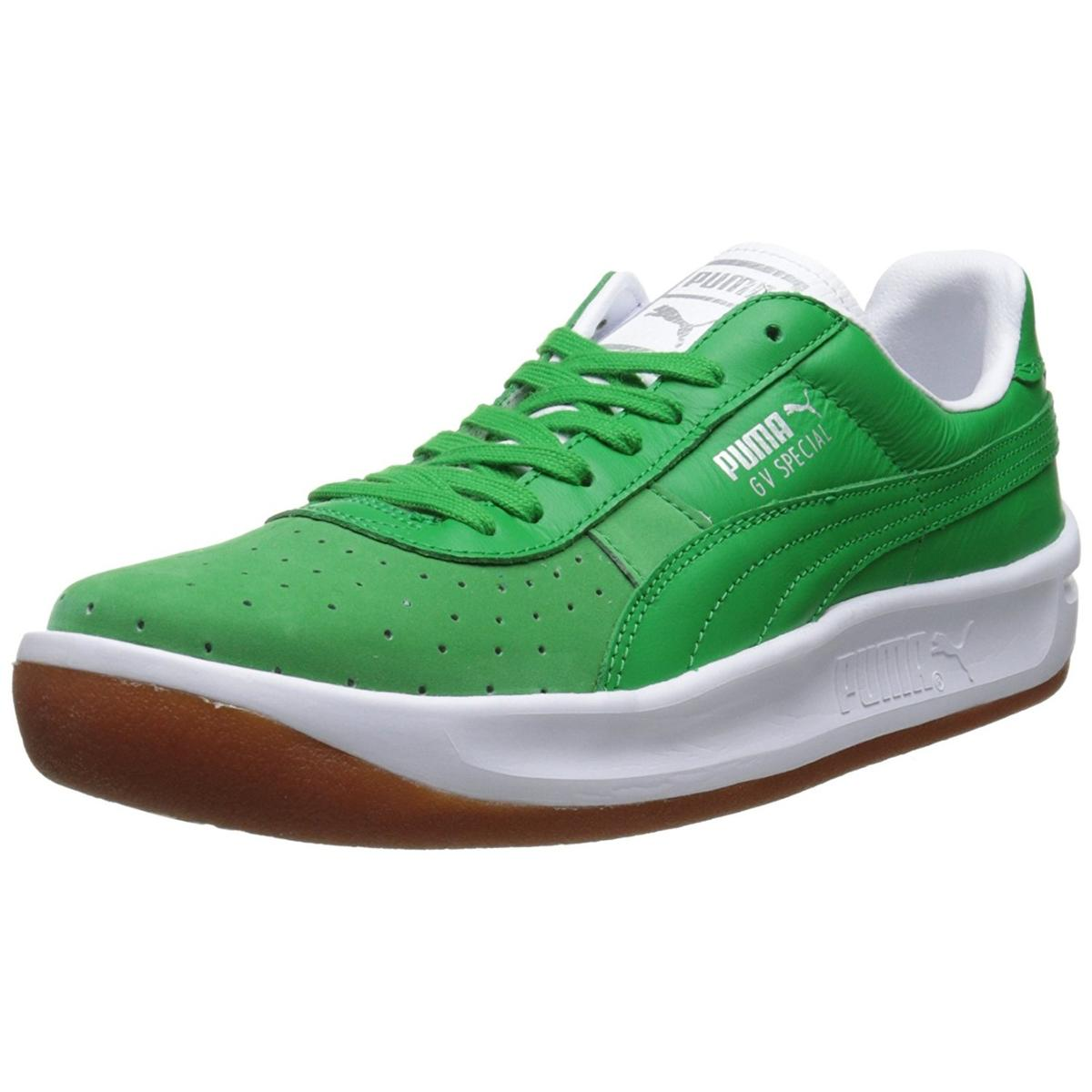 best sneakers 2dd4e d17e4 Puma GV Special Basic S Mens Green/White Sneakers