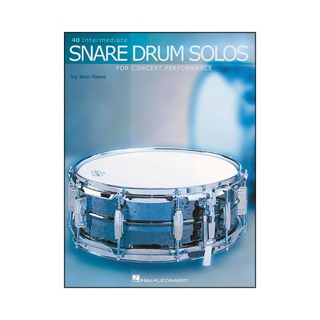 Snare Drum Solo Sheet Music - Hal Leonard 40 Intermediate Snare Drum Solos for Concert Performance