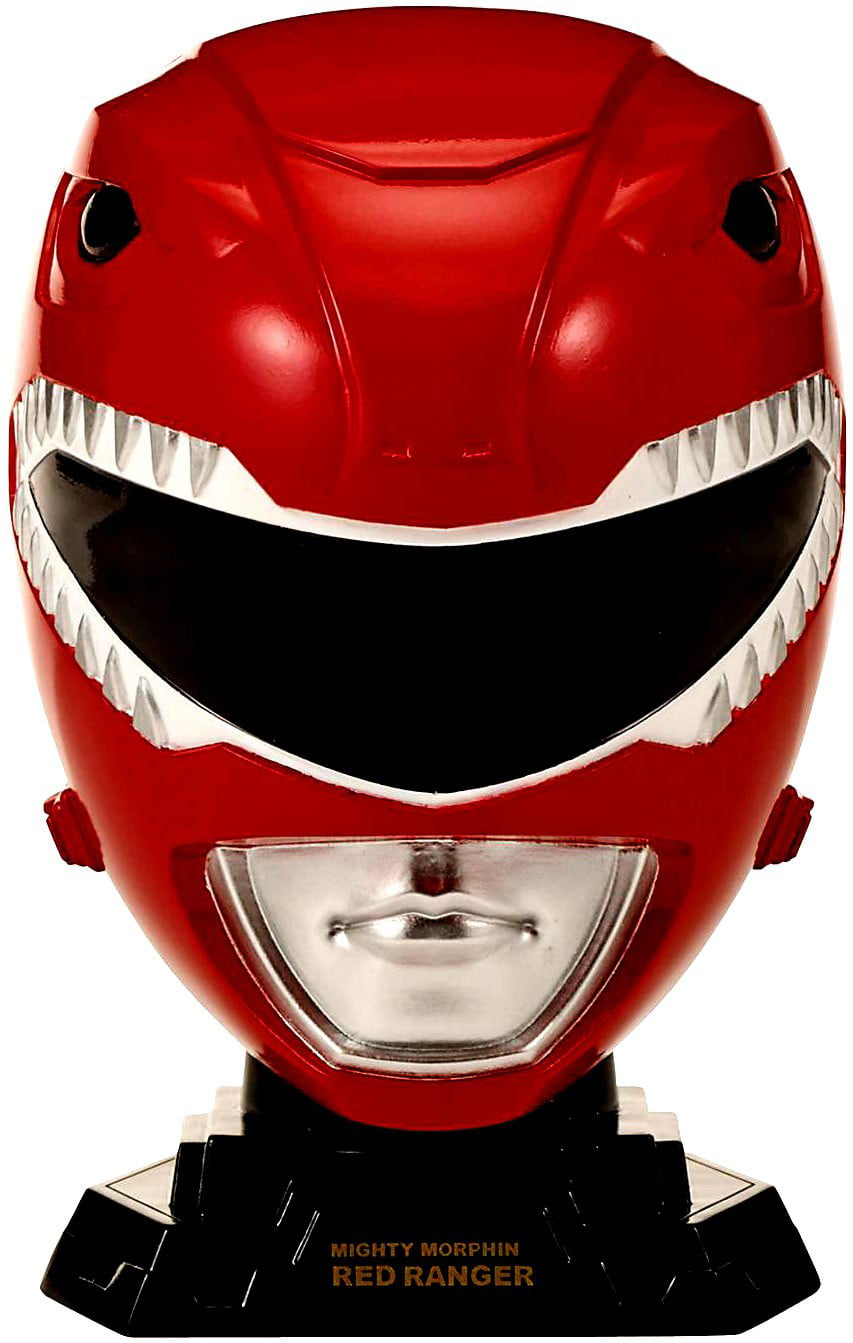 Power Rangers Legacy 1 4 Helmet Mighty Morphin Red-CHILD by Bandai