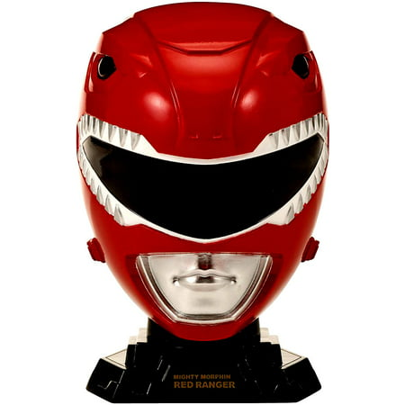 Power Rangers Legacy 1/4 Helmet Mighty Morphin Red-CHILD