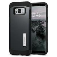 Spigen - Slim Armor Case for Samsung Galaxy S8+ - Metal slate