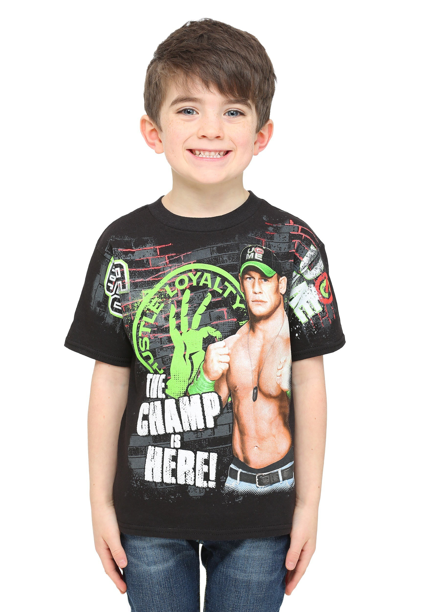 85b9e570 Freeze Kids - Boys WWE John Cena Champ Is Here T-Shirt - Walmart.com