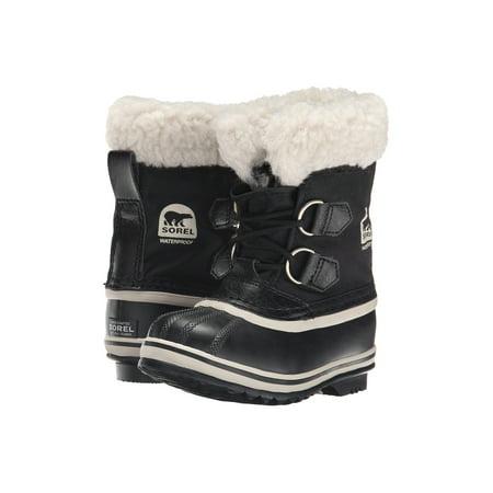Sorel Children's Yoot Pac Nylon Cold Weather Boot Black 8 M US