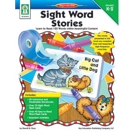 Sight Word Stories, Grades K - 2 : Learn to Read 120 Words within Meaningful Content (Halloween Story Grade 1)