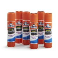 Elmer's Disappearing Purple Washable School Glue Sticks, 6 Count
