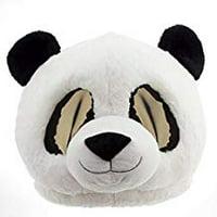 Panda Maskimal Halloween Mask Face Party Plush Eye Football Oversize Costume