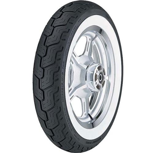 Dunlop D404 Metric Cruiser White Sidewall Bias Rear Tire 150/90-15