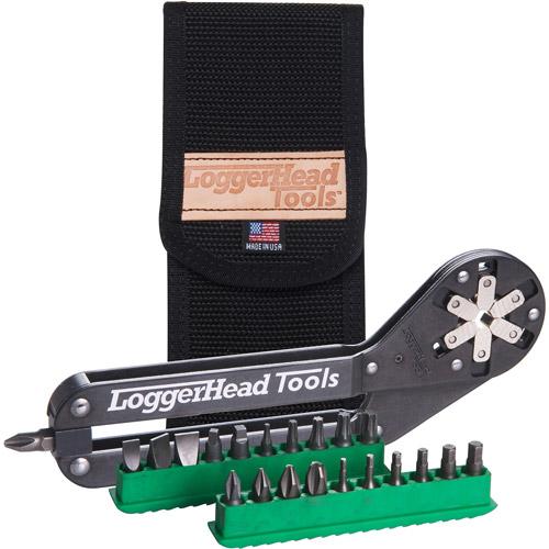 """Loggerhead Tools 6"""" ImmiX Multi-Tool (w/20 Bits)"""