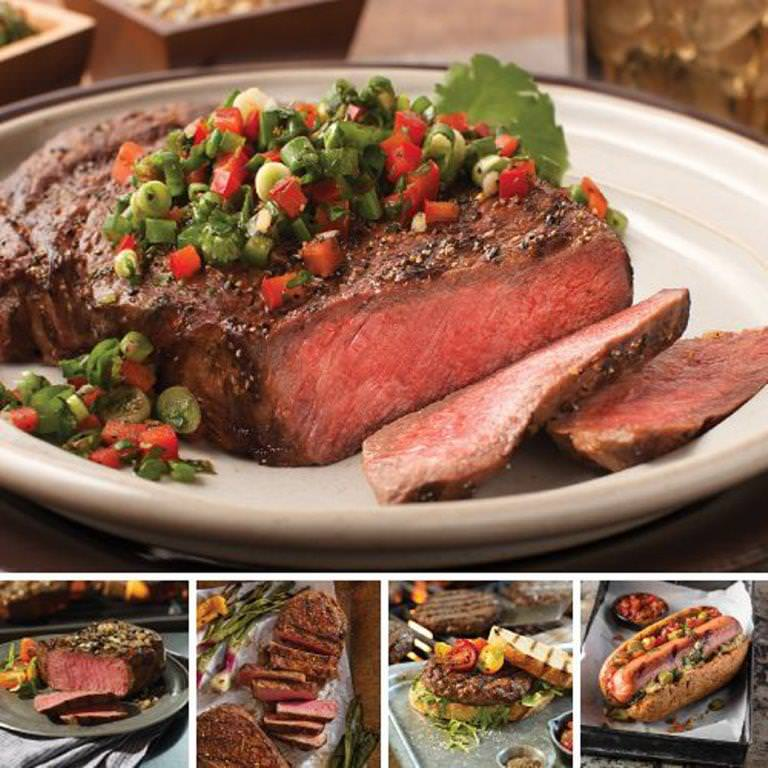 Omaha Steaks The Best Cookout Holiday Gift Father's Day Food Christmas Gift Package Gourmet Deluxe Steak Gift
