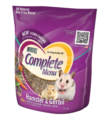 HEALTHY PET COMPLETE MENU HAMSTER/GERBIL 2LB
