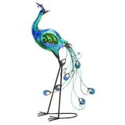 Decorative Peacock in Blue
