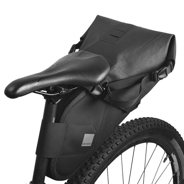 MTB Bike Bicycle Saddle Bag Waterproof Rear Bag Reflective Cycling Rear Tail Bag