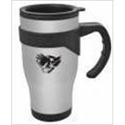Christian Art Gifts 367731 Mug Travel Eagle With Handle Stainless