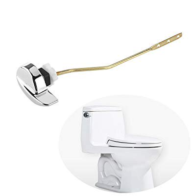 OULII Side Mount Toilet flush Lever Handle for TOTO Kohler Toilet Tank Side Mount Tank Lever