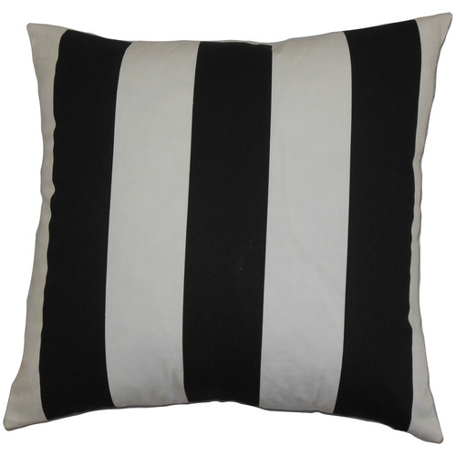 The Pillow Collection Leesburg Cotton Throw Pillow